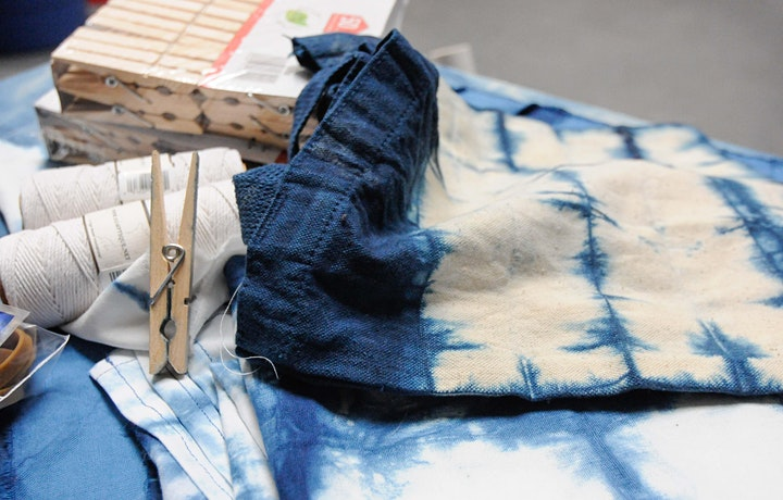 Mother's Day Workshop—The Art of Shibori Dying image