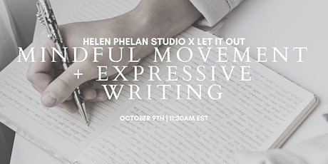 Mindful Movement + Expressive Writing with Katie Daleabout tickets