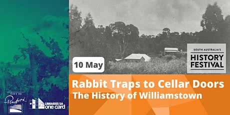 SA History Festival : Martin Johnson Rabbit Traps to Cellar Doors... tickets