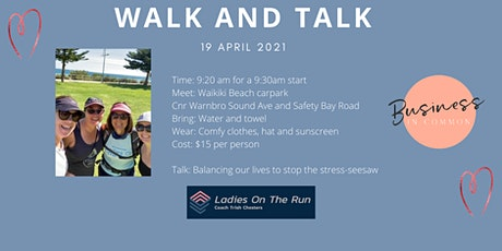 Business in Common Walk and Talk tickets