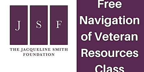 Navigation of Veteran's Resources Class tickets