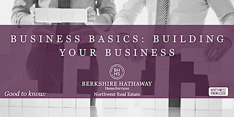 Business Basics - Building Your Business tickets
