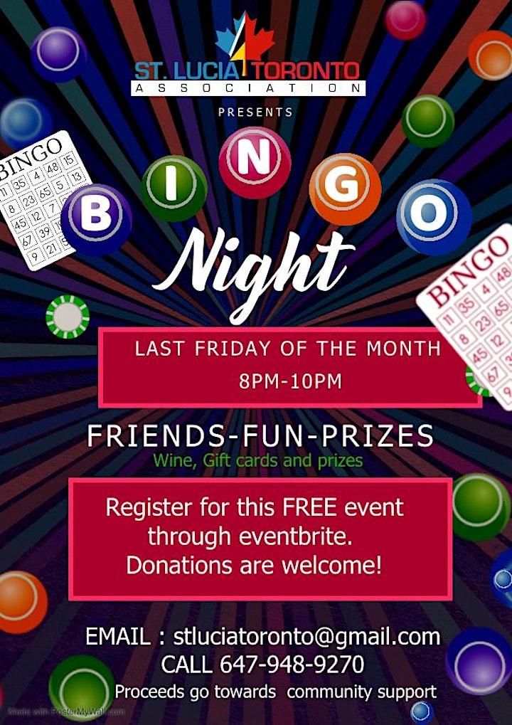 Virtual Bingo Night image