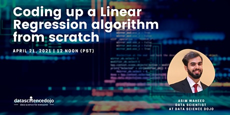 Coding up a Linear Regression algorithm from scratch tickets