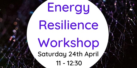 Energy Resilience workshop tickets