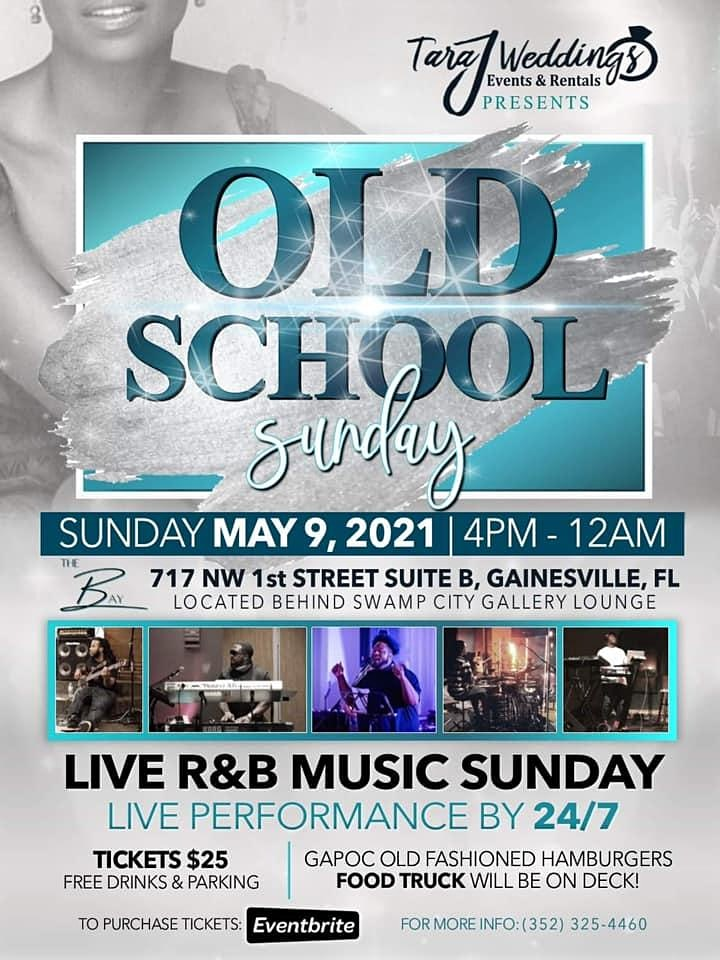 Old School  Live R&B Music Sunday's image