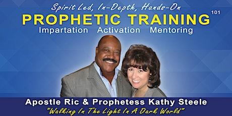 Prophetic Training - 101 tickets