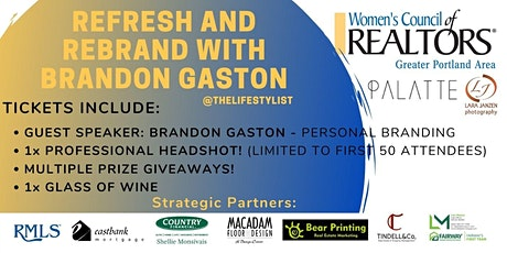 Refresh and Rebrand with Brandon Gaston tickets