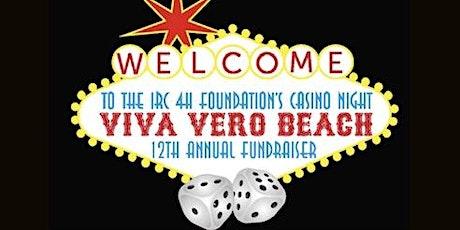12th Annual IRC 4-H Foundation Fundraiser-Casino Night tickets