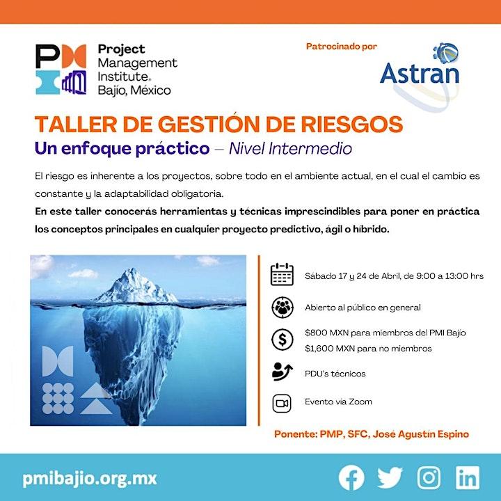 Imagen de Taller: Gestión de Riesgos - Un Enfoque Práctico