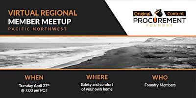 Virtual Member Meetup Pacific Northwest