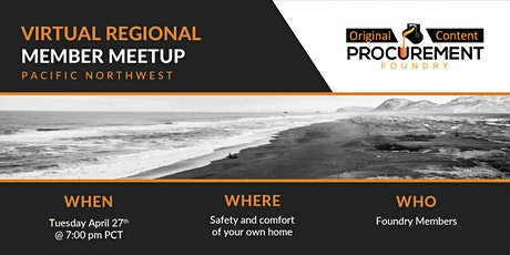 Virtual Member Meetup Pacific Northwest tickets