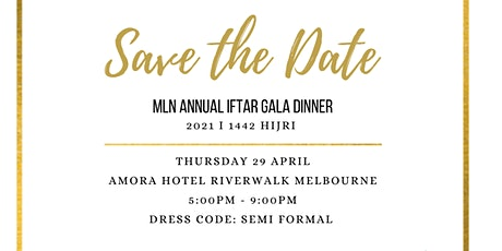 Annual Iftar Gala Dinner tickets