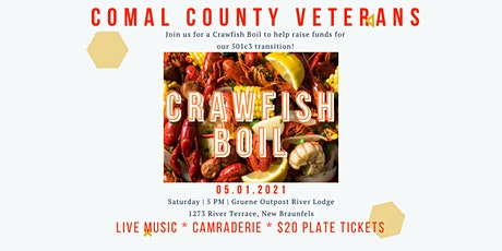 Comal County Veterans Crawfish Boil tickets