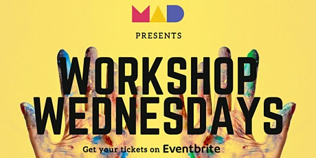 Workshop Wednesdays:'Peace & Paint' hosted by Evan Bieder tickets