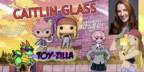 Anime POP SWAP SIGNING #13 TOY-ZILLA with CAITLIN GLASS tickets