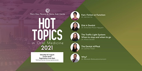 Hot Topics in Oral Medicine 2021 tickets
