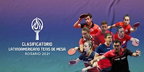Preolímpico de Tenis de Mesa - Clasificatorio Latinoamericano entradas