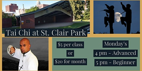 Tai Chi in Saint Clair Park tickets