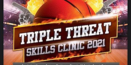 NBA TRIPLE THREAT SKILLS CLINIC FEATURING DAVE HOPLA tickets