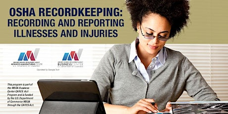 """OSHA Recordkeeping """"Recording and Reporting Illnesses and Injuries"""" tickets"""