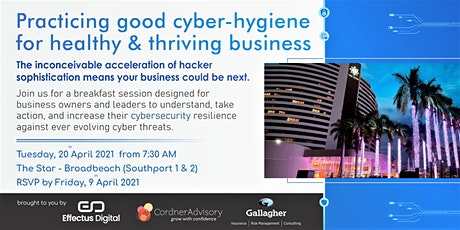 Cyber Breakfast for Business Owners & Leaders tickets