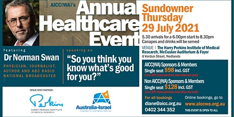 The AICC(WA) Annual Healthcare Event tickets