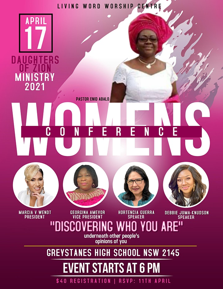 Daughters of Zion Women's Conference 2021 image