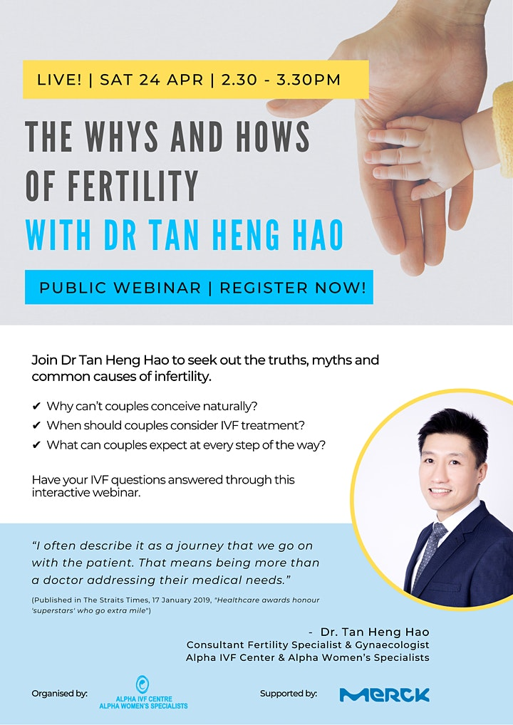 The Whys and Hows  of Fertility with Dr Tan Heng Hao image