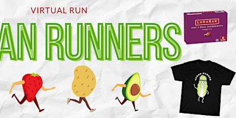The Vegan Virtual Run tickets