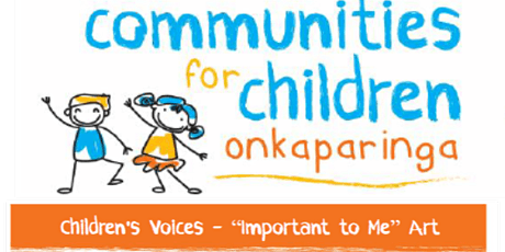 What's important to me - children's art project - Noarlunga library tickets