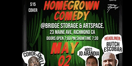 The Voice Party Presents: HOMEGROWN COMEDY tickets