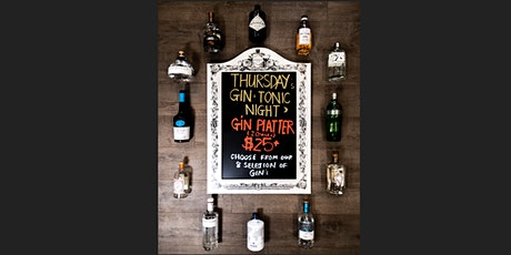 Gin & Tonic Night Thursdays tickets