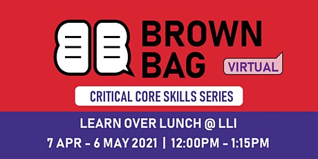 Brown Bag: Harnessing the Power of Data tickets