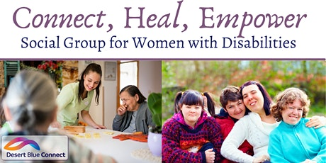 Connect, Heal, Empower: Social Group for Women with Disabilities tickets