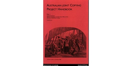 Members' Meeting. The Australian Joint Copying Project. Speaker: Ann Swain tickets