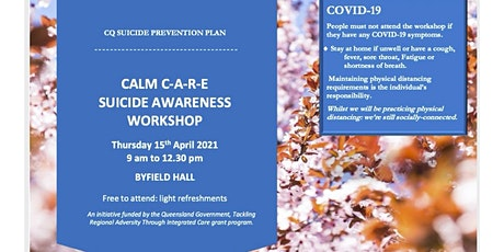 Calm C-A-R-E Suicide Awareness Workshop tickets