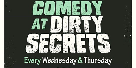 Dirty Secrets Comedy tickets