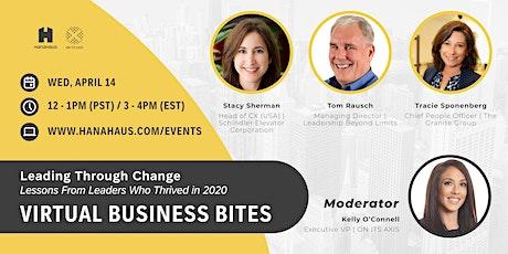 Virtual Business Bites | Leading Through Change tickets
