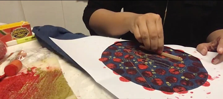 Farm Day Out Workshop: Easter Block Printing for kids by recycled material image