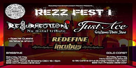 REZZ-FEST TRIBUTE SHOW - Resurrection, Just Ace, Redefine tickets