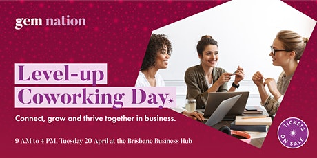 Level-up Coworking Day tickets