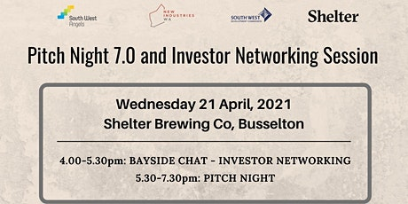 South West Angels Pitch Night 7.0 and Investor Networking @ Shelter Brewing tickets