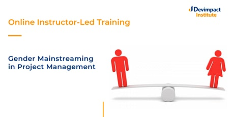 Training on Gender Mainstreaming in Project Management tickets