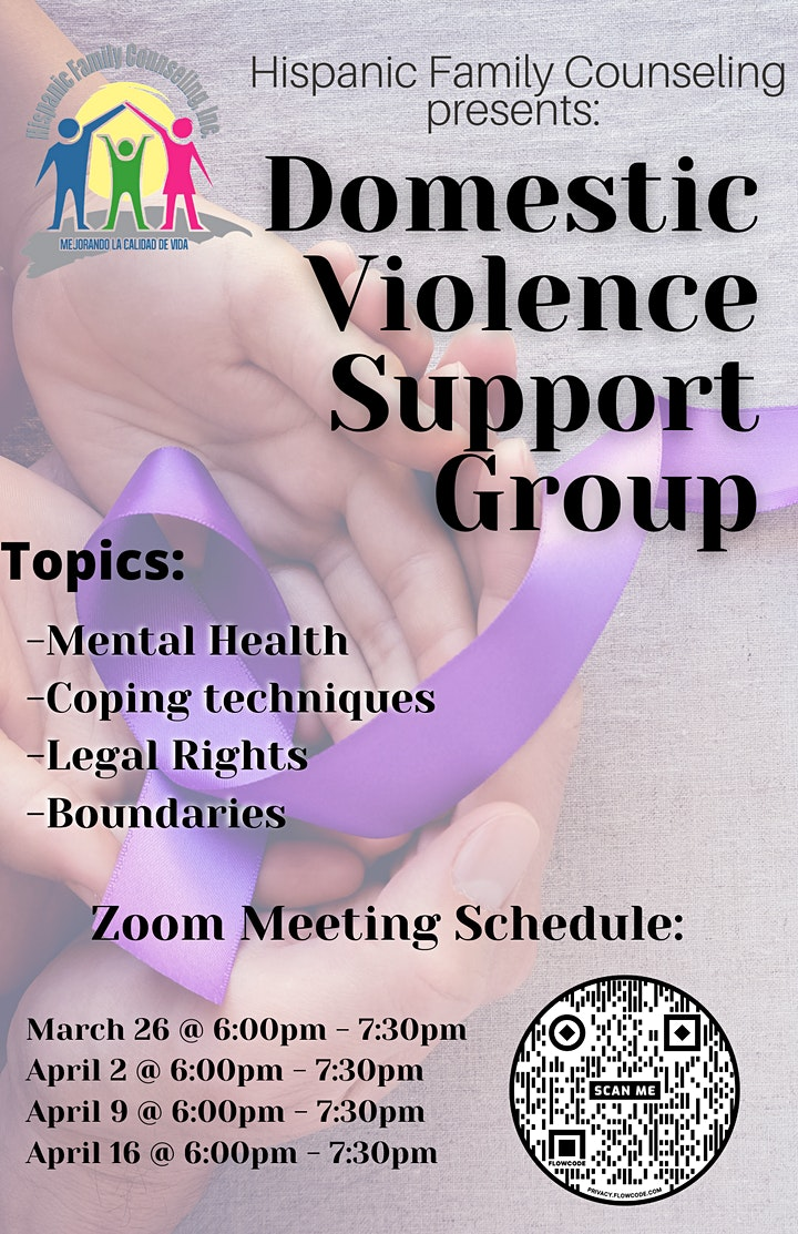 Domestic Violence Support Group image