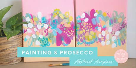Painting & Prosecco - Abstract Acrylics tickets