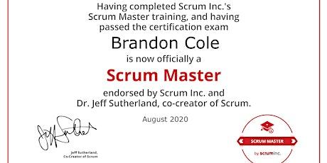 SMSI Scrum Master endorsed by Dr. Jeff Sutherland (online, BEST SELF) tickets