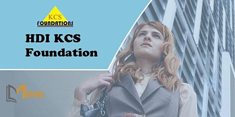 HDI KCS Foundation 3 Days Training in Montreal tickets