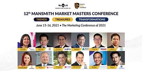 12th Mansmith Market Masters Conference tickets