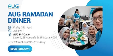 [AUG Brisbane] Ramadan Dinner 2021 tickets